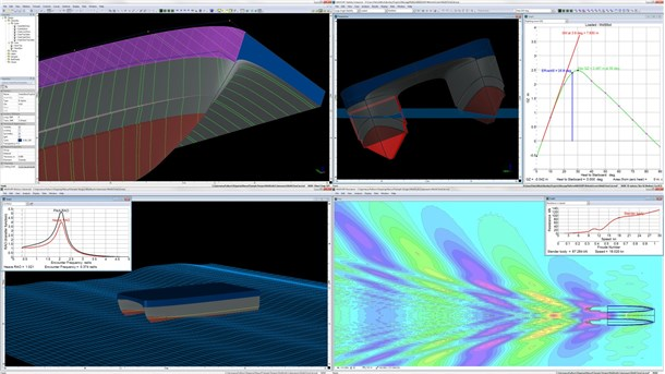 Integrated suite of Naval Architecture tools
